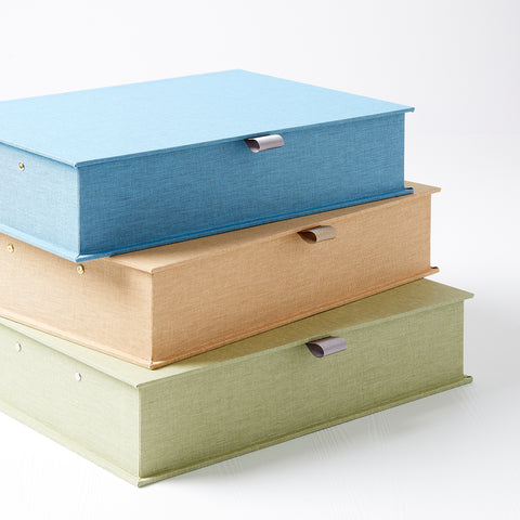 Fabric Covered Box Files