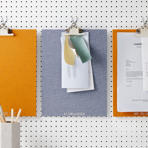 design your own clipboard, natural weave clipboard