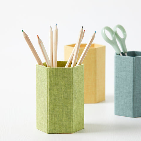 Fabric Pen Pots