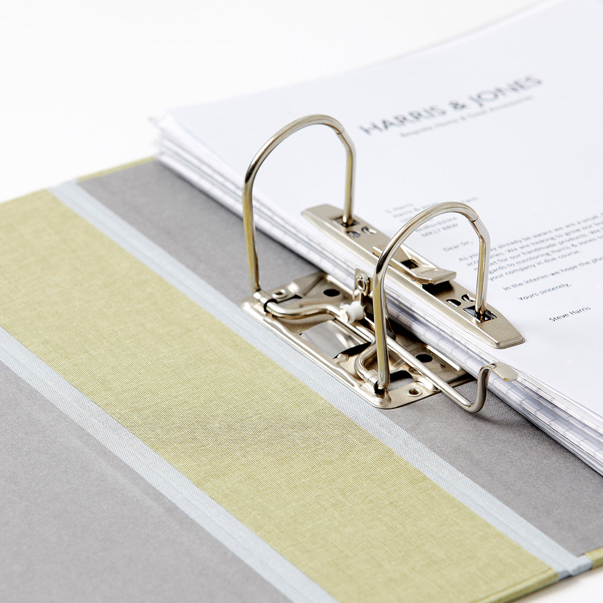 Fabric Covered Lever Arch Files (55mm Capacity)