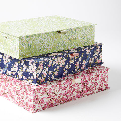 Patterned Box Files