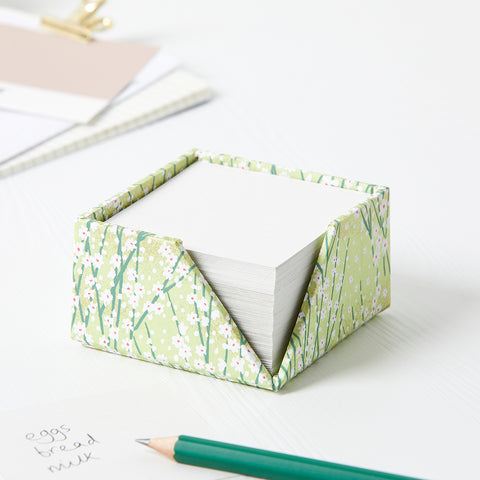 Patterned Chiyogami Memo Block