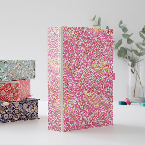 Patterned Box Files A3