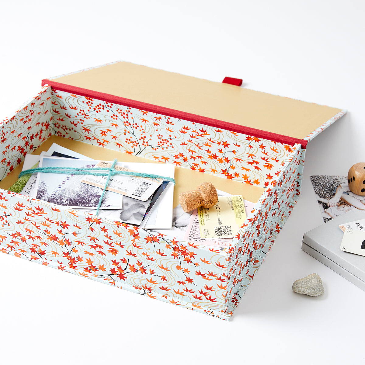 Patterned Keepsake Boxes
