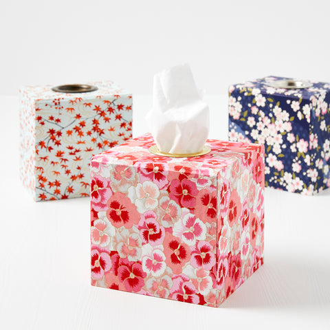 Patterned Tissue Boxes