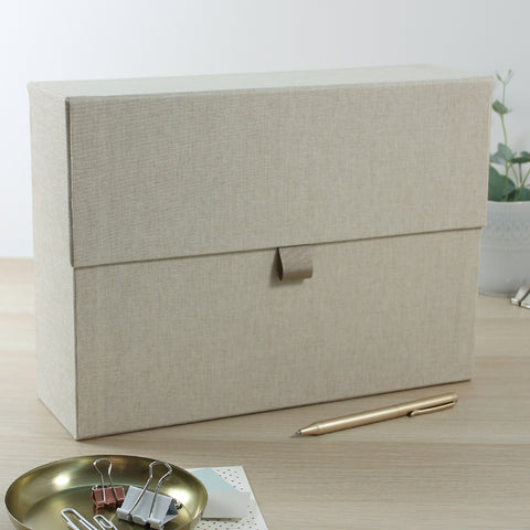 Organiser Boxes - Natural Weaves