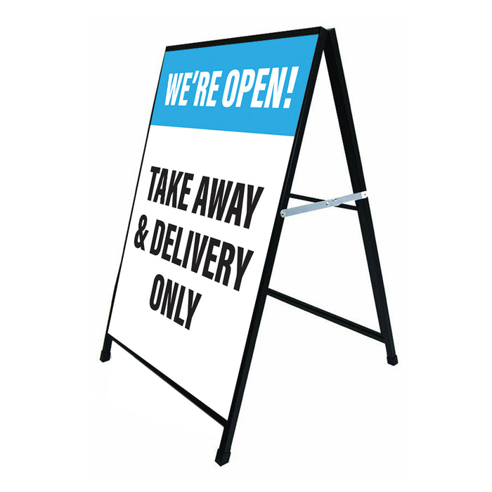 Takeaway & Delivery Only Blue