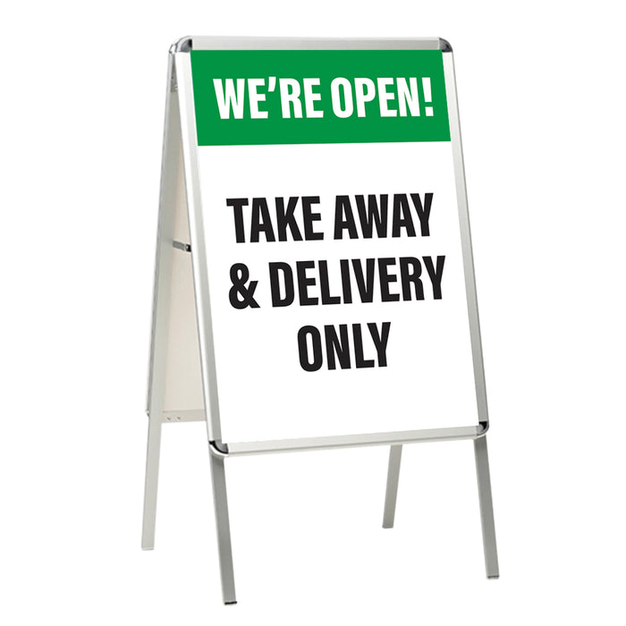 Takeaway & Delivery Only Green