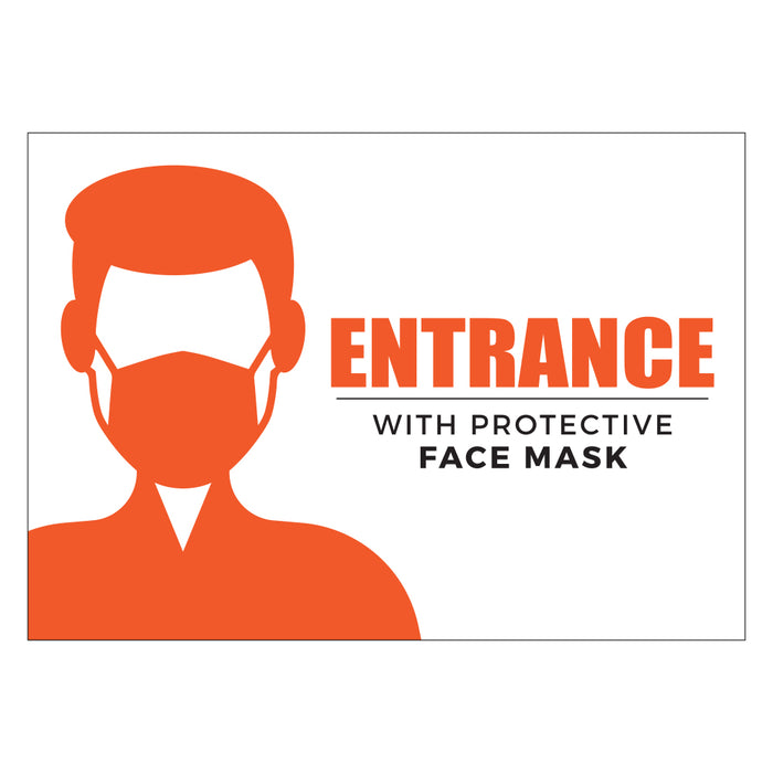Entrance with Mask Orange