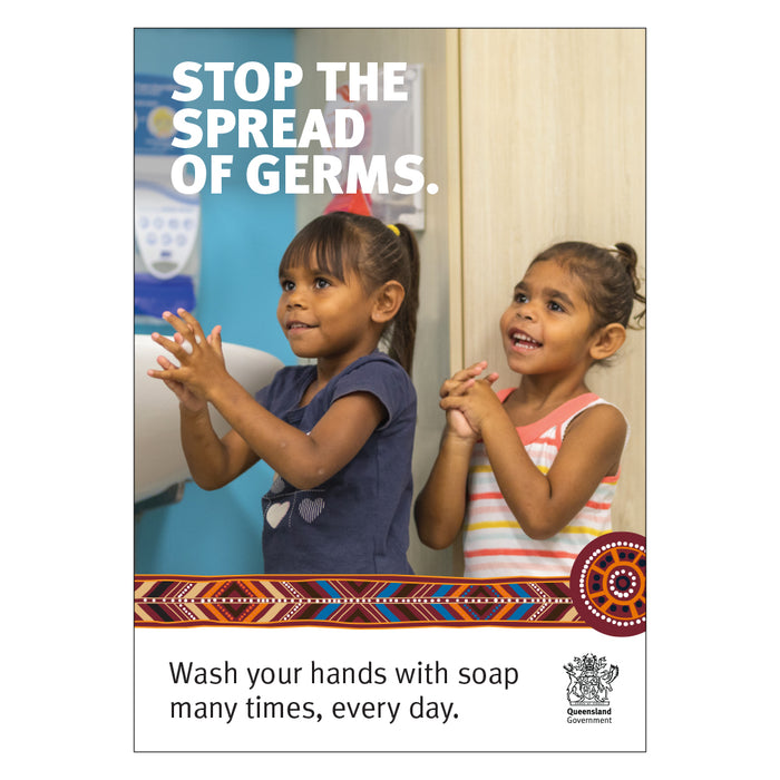 Stop the Spread of Germs QLD Health