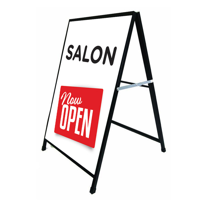 Salon Now Open