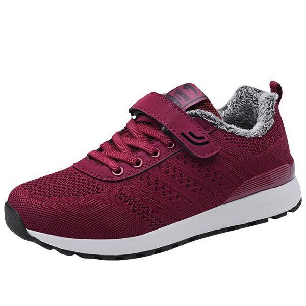 Women's Plus Velvet Warm Snow Sports Shoes