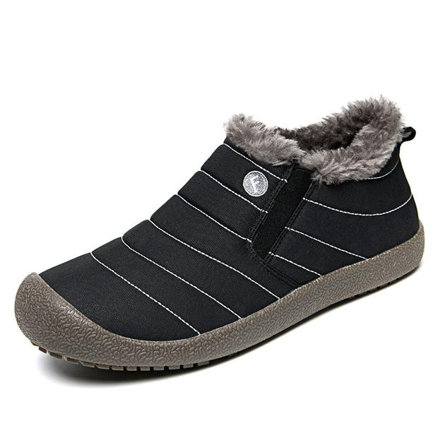 Men's Water-resistant Casual Cotton Winter Snow Boots