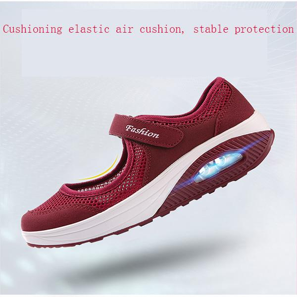 Women's fashion flying woven mother shoes