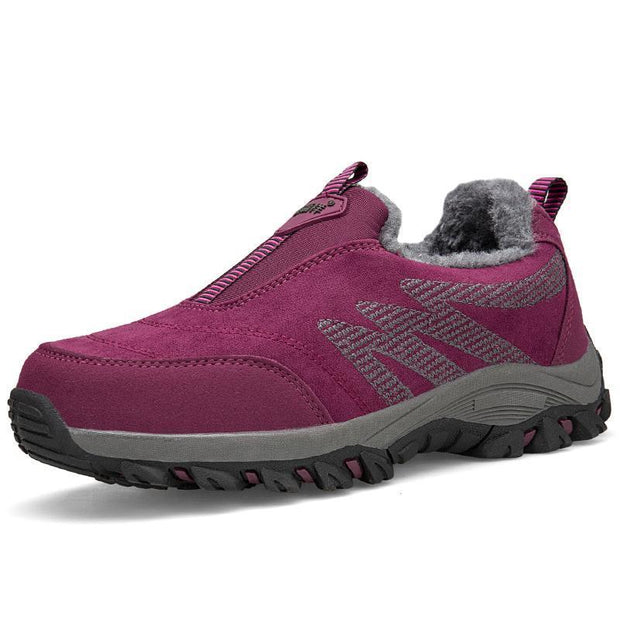 Women's Plush Non-slip Warm Walking Shoes