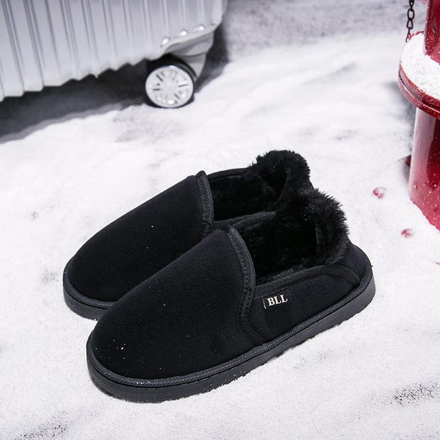 Ladies Warm Cosy Cotton Slippers