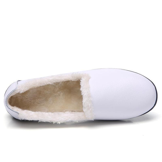 Women Plus Cotton Casual Peas Shoes