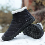 Women Winter Warm Plus Velvet Cotton Non-Slip Boots