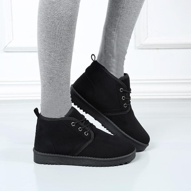 Women Warm Plus Velvet Non-slip Comfortable Ankle Boots