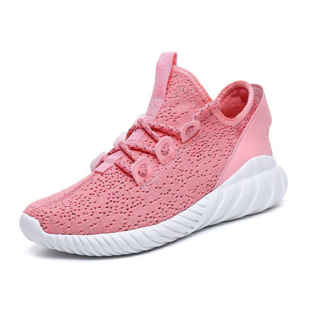 Women's openwork sports and leisure flying woven shoes 116994