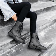 Women High-top Lace-up Martin Boots