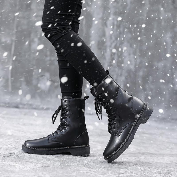 Women Plus Velvet Warm High Martin Boots