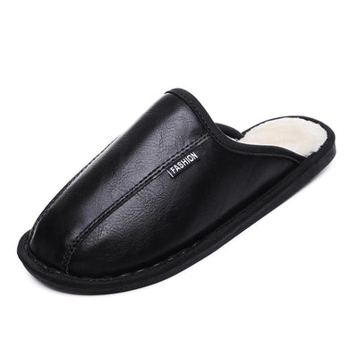 117263 Men's home warm cotton slippers
