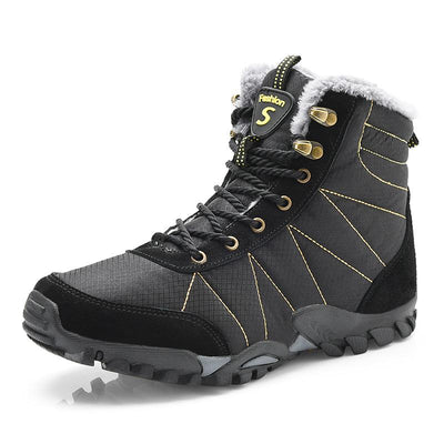 117310 Winter men's waterproof high-top snow boots