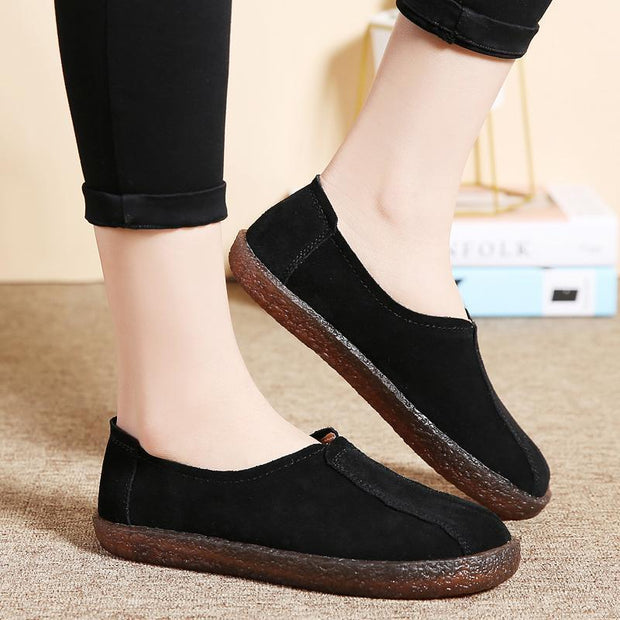 Ladies casual peas shoes 117399