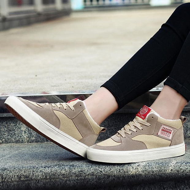 Women Winter tide shoes plus velvet cotton shoes winter shoes plus velvet warm sports casual shoes 117235