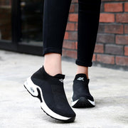 Women sneakers shoes flat slip on platform sneakers for women breathable mesh sock sneakers shoes 117398