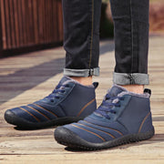 Men's Plus Cotton Water-resistant Lace-up Boots