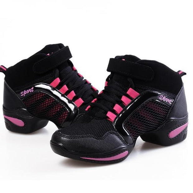 Women's high-top dance shoes sports shoes shock absorption anti-skid 118287
