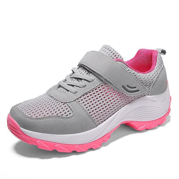 Large Size Spring and Summer Women's Shoes Thick Breathable Mesh Shoes 118481