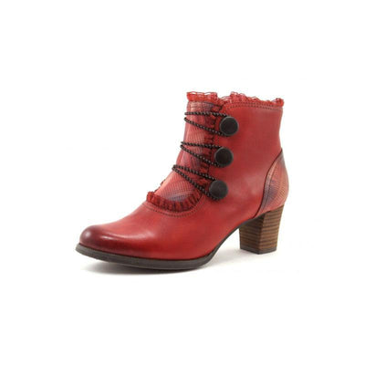 118666 LAURA VITA AMELIA 09 Retro Genuine Leather Zipper Handmade Original Vintage Comfortable Ankle Boots