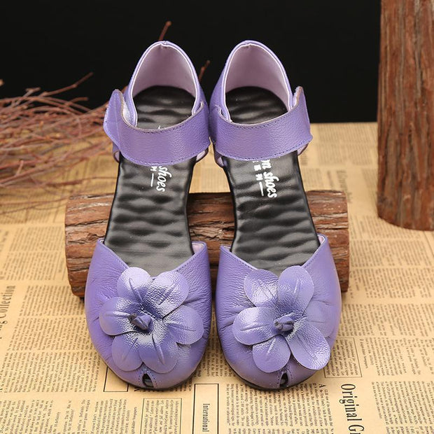 Women's Candy-colored Fish Mouth Sandals