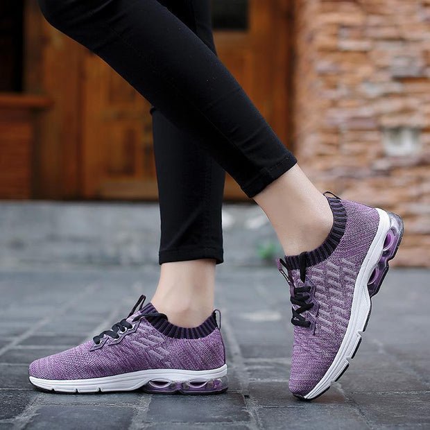 Women Fashion 2018 winter new low-top shoes breathable tide shoes rubber mesh movement 117782