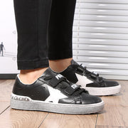 Women Fashion trend retro star shoes outdoor wild personality casual velcro 118131