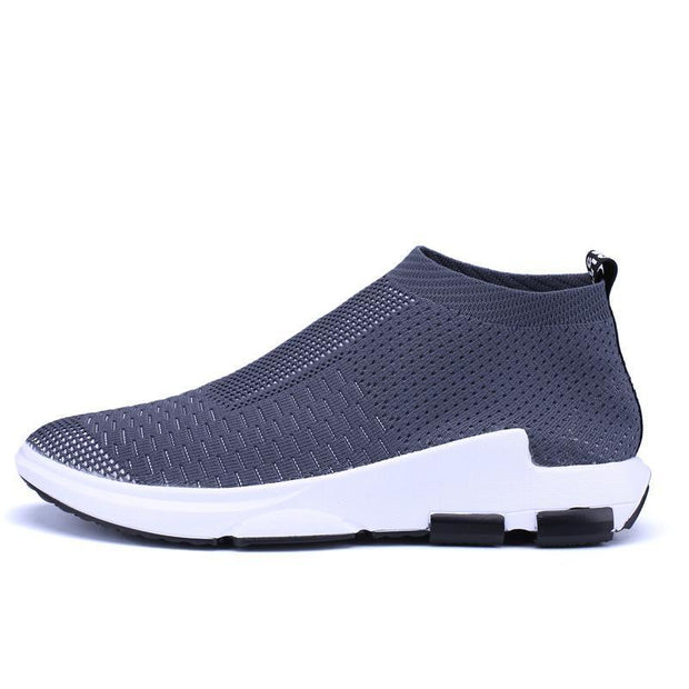 Fashion Mesh Breathable Plus Size Shoes Sports Running Shoes Flat Shoes Socks Shoes 118979