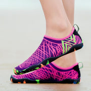 Female Large Size Thick Stretch Fabric Fitness Shoes Swimming Shoes Beach Shoes 118834