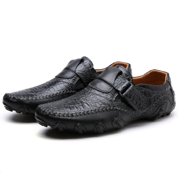 Men's fashion middle-aged wear casual shoes 117970