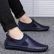 Men's new must burst rubber bottom microfiber peas shoes 117931