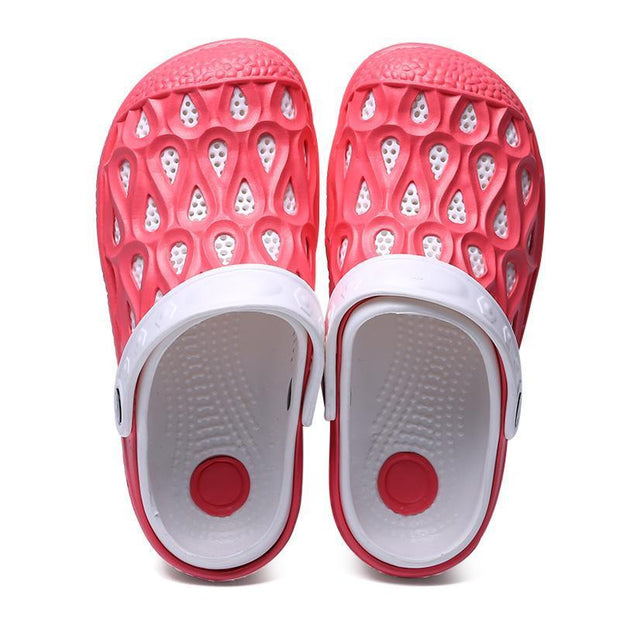 Ladies hole shoes, sandals, slippers 119091