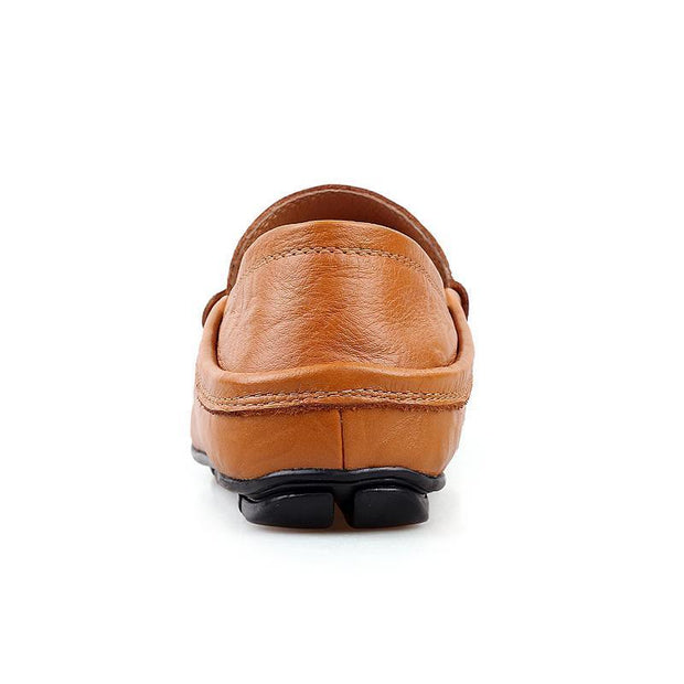 Men's Soft Genuine Leather Boat Loafers
