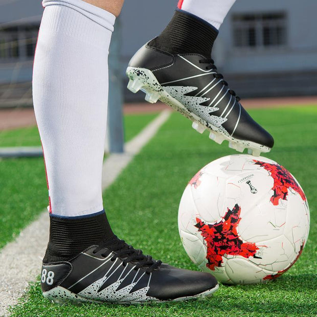 Men's Soccer Shoes Grass Sports Football Boots Comfortable Non-slip Shoes Teen Sneakers Cleats Boots 118940