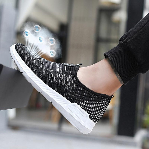 Women's  Shoes Sports Casual Shoes Couple Mesh Cloth Breathable Shoes Comfortable Shock Absorber 119577