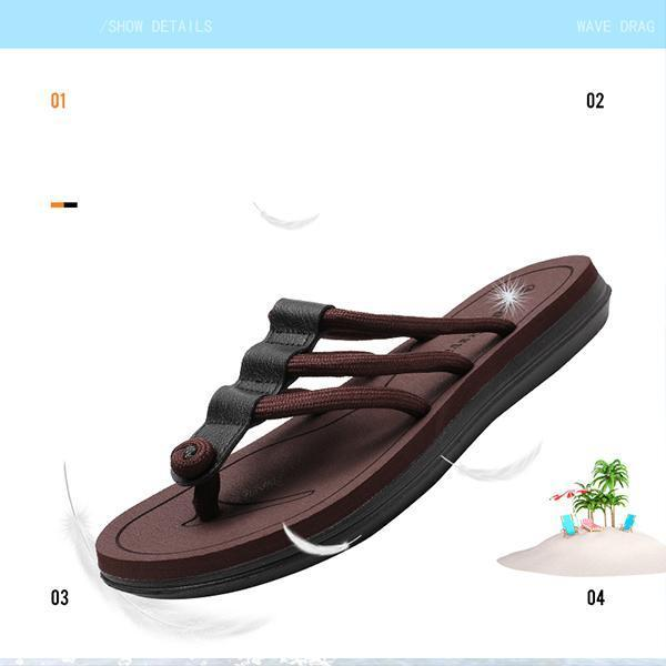 Men's Casual Thong Slippers
