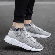 Men's casual sports flying woven shoes 119314