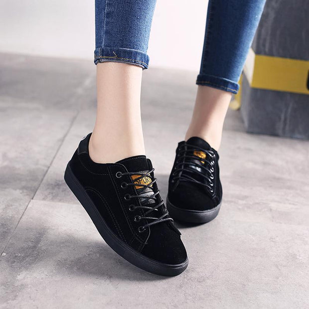 Women's Canvas shoes women's casual sports running shoes