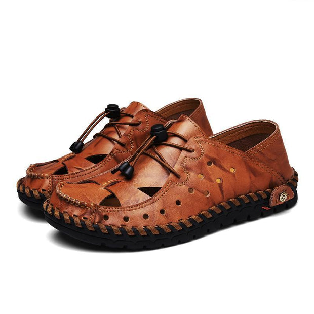 Men's fashion casual leather sandals 119885
